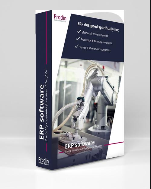 ERP systeem software
